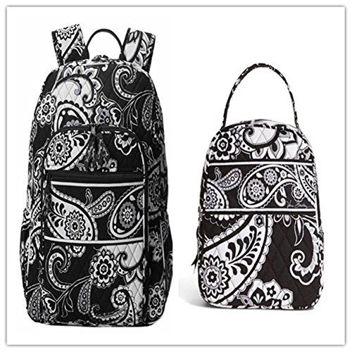 bda157f973a0 Vera Bradley Campus Backpack and Lunch Bunch Midnight Paisley ...