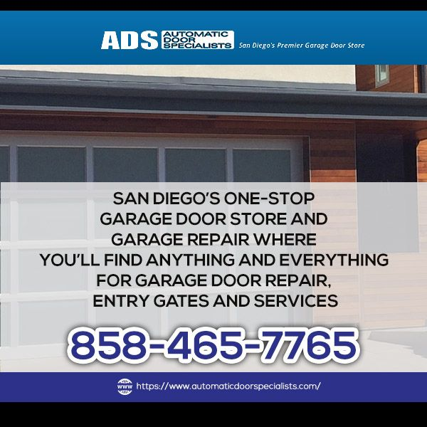 Automatic Door Specialists Are The Best San Diegos Provider Of