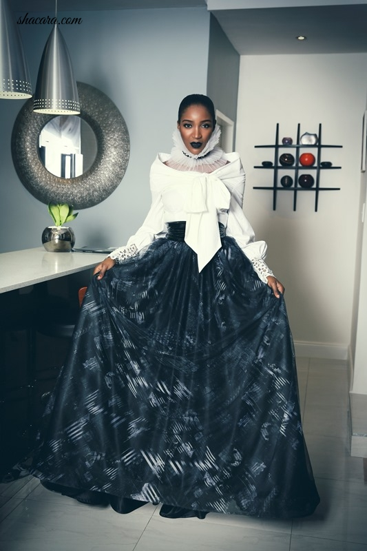 Idia Aisien Shows Class Charisma And Appeal In South Africa S David Tale See Photos Fashion Fashion Collection Victorian Dress