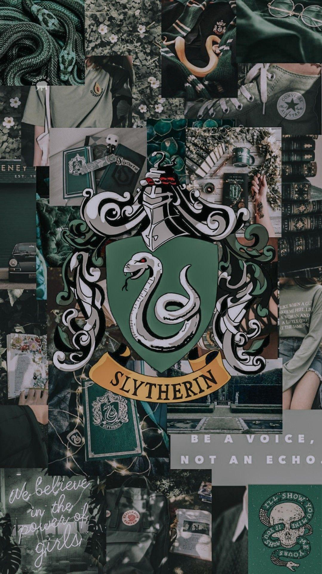 Lockscreen Serpentard In 2020 Harry Potter Wallpaper Slytherin Harry Potter Harry Potter Background