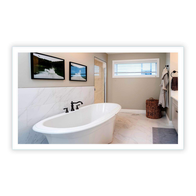 LED SideLighted Bathroom Vanity Mirror 60 Wide x 36 Tall