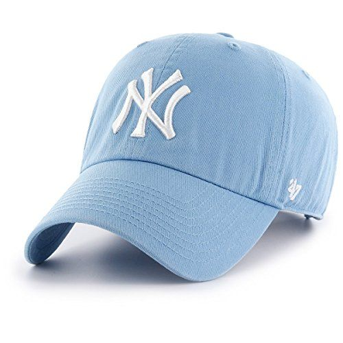 517d636e794  47 Brand MLB NY Yankees Clean Up Cap - Columbia (Baby Bl..