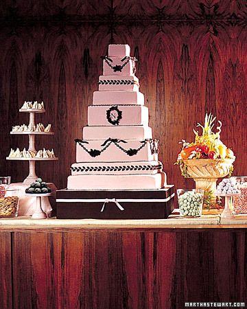 Darcy Miller's Wedding Cake