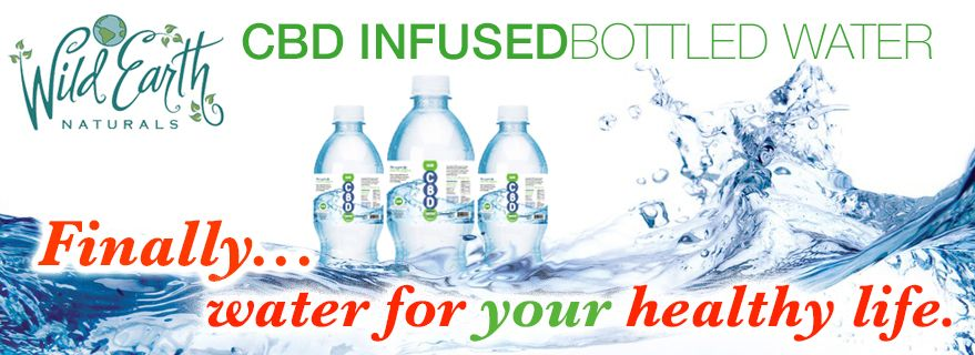CBD Infused Bottled Water : Finally... water for your healthy life. : click above photo or click this link for more... http://wildearthnaturals.com/product-category/cbd/