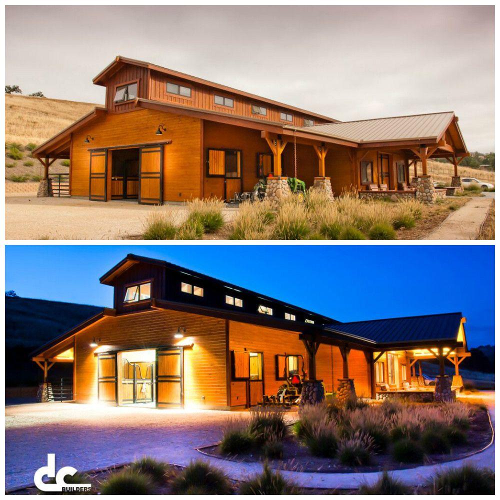 We built this custom barn in 2015 in Santa Ynez