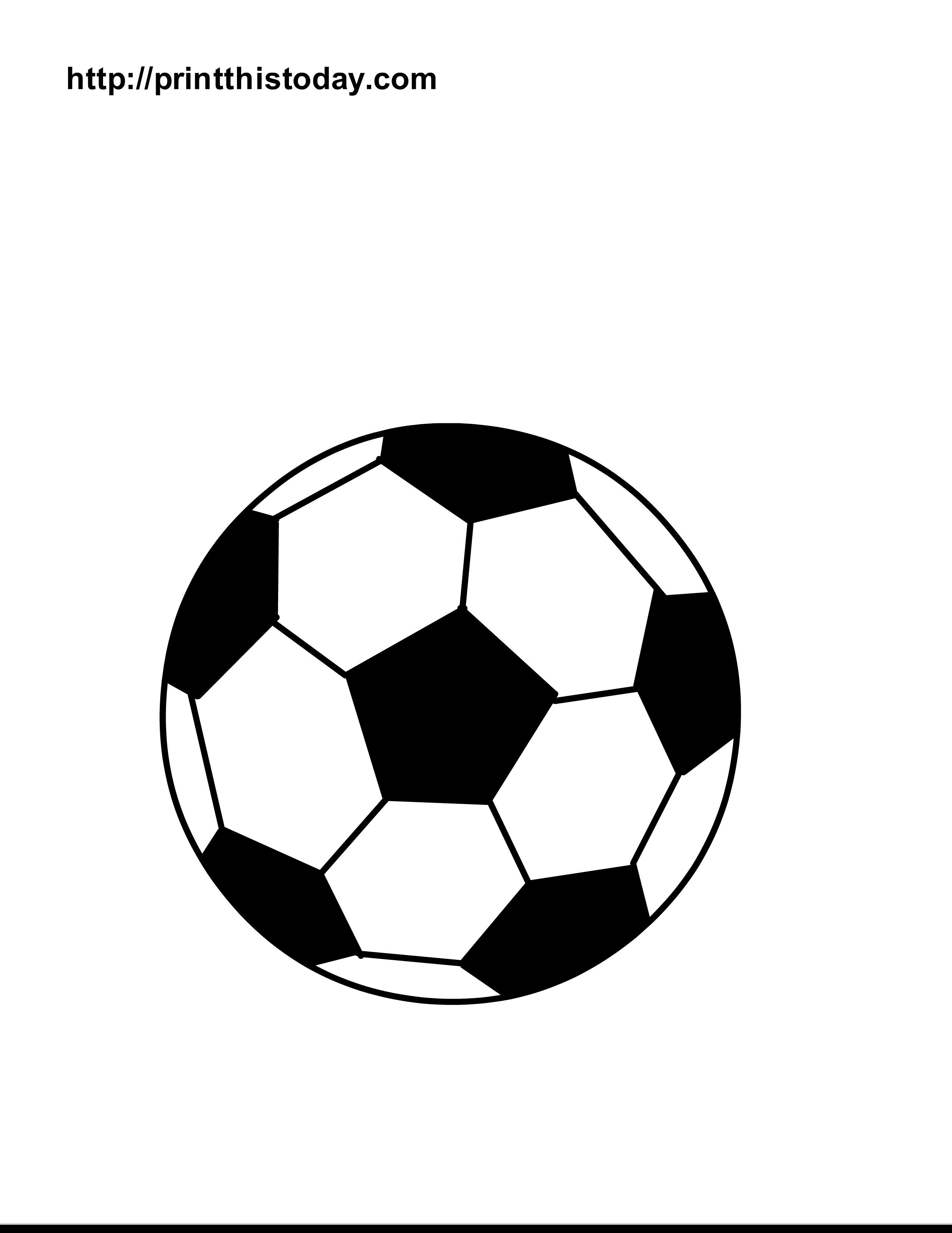 How To Draw A Soccer Ball - ClipArt Best | Soccer | Pinterest ...