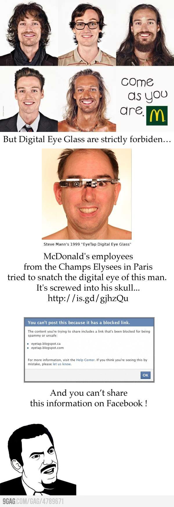 L'affaire #McDo vue par 9gag !