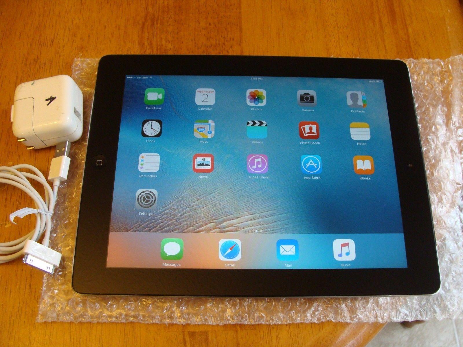Apple iPad 2 32GB Wi-Fi  3G (Verizon) 9.7in - Black - 6 MONTHS WARRANTY https://t.co/WWEA8Xs7ek https://t.co/AHEiZcP33u