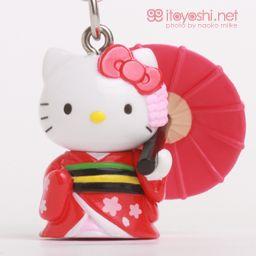 itoyoshi's Gotochi Kitty collection NO.1661 Kinki Area ・ Kyoto prefecture limited Maiko Hello Kitty