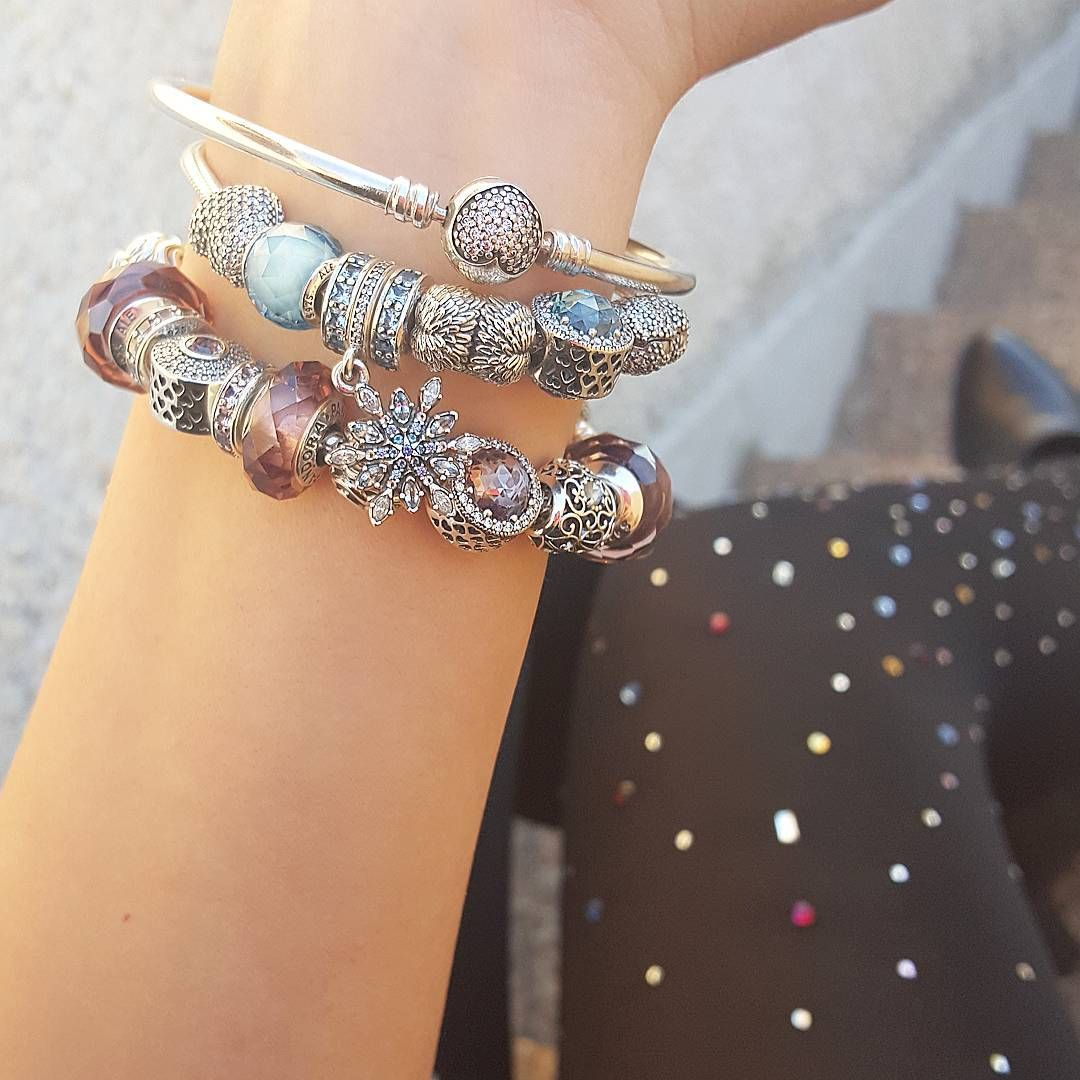 charm pandora bracciale sottile