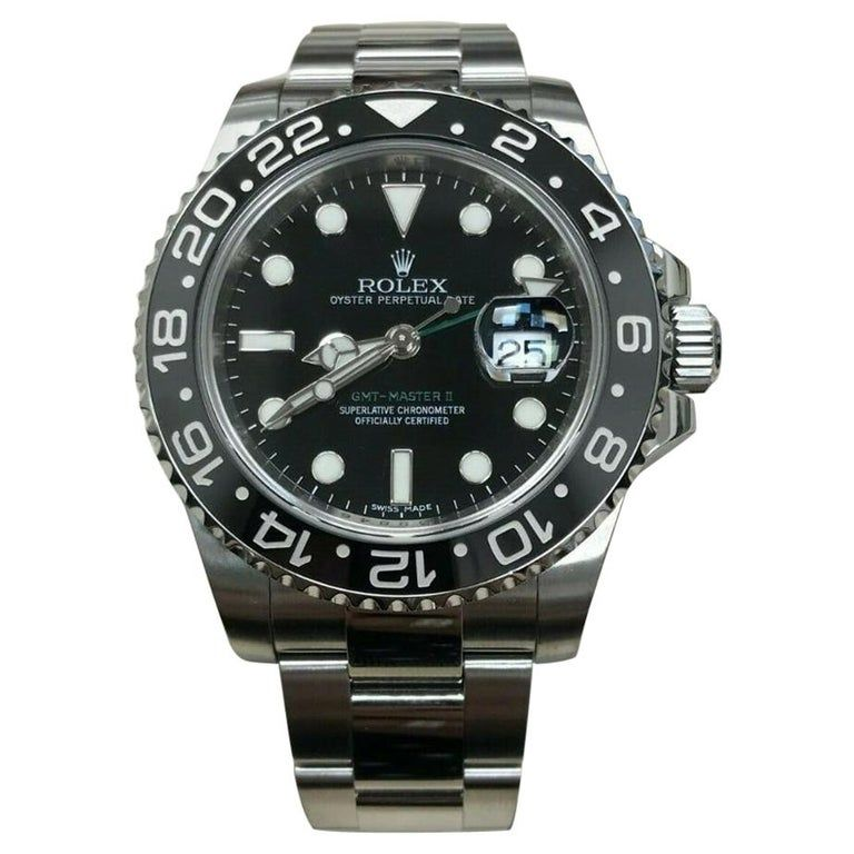 Rolex Gmt Master Ii 116710Ln Dial Certified Warranty Contemporary