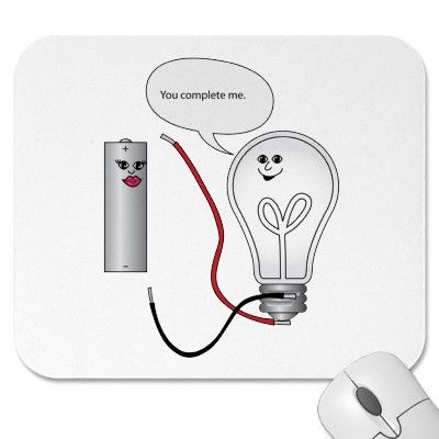 $13.35 You complete me mousepad... cute joke for science geeks for ...