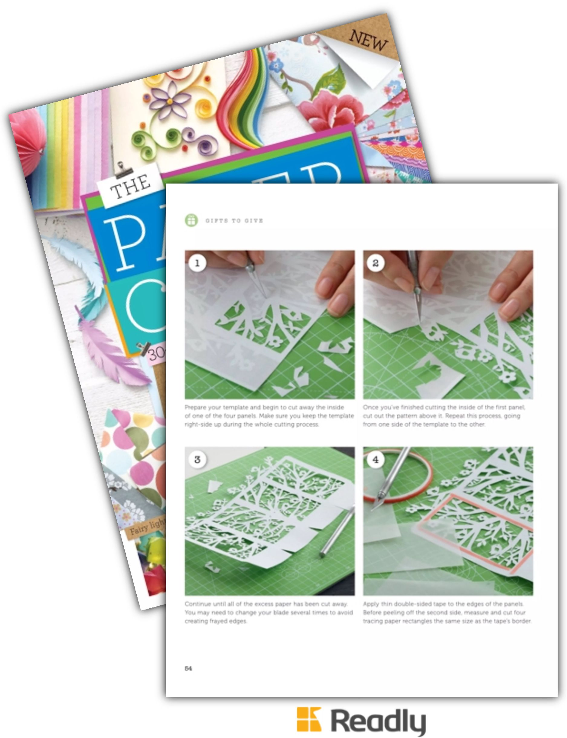 Suggestion About The Paper Craft Book 1st Edition Page 54 Lantern