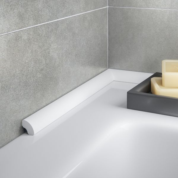 Self Adhesive Bath Seal Trim Tile trim, Tub tile