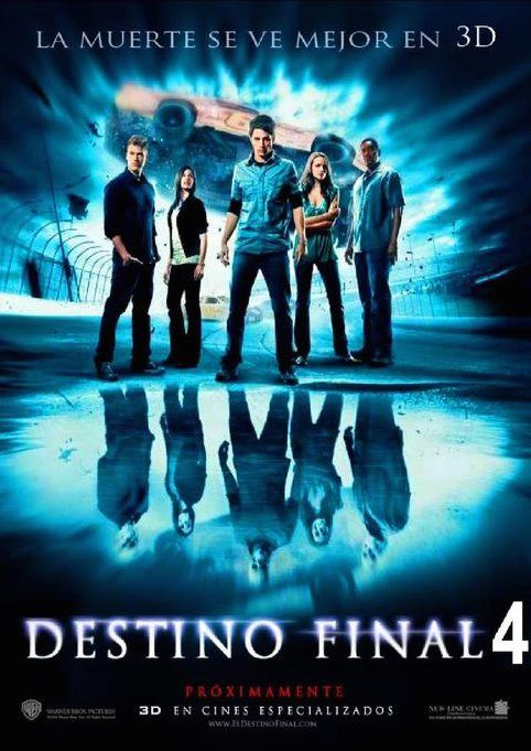 Ver Peliculas De Thriller En Linea Gratis Peliculas De Accion Online Destino Final 4 Peliculas De Miedo Horror Movie Posters
