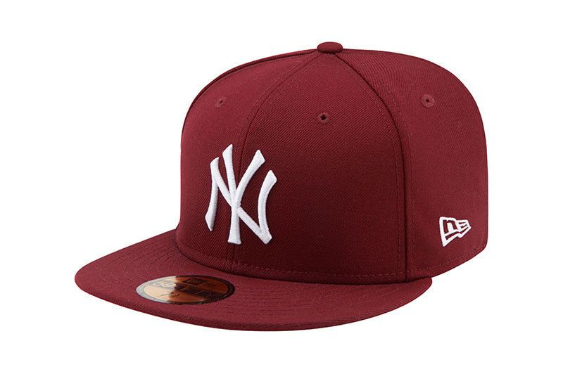 NEW ERA NEW YORK YANKEES FITTED HAT GREY BLACK CAP 59FIFTY CLASSIC MEN SZ 7-8