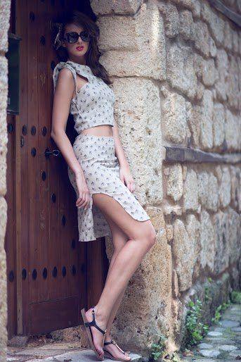 MUMU ORGANIC Anafi skirt