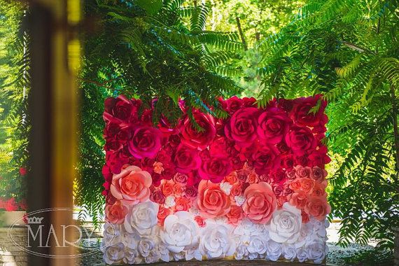 Paper flower backdrop for newly weds is a stylish and elegant option paper flower backdrop for newly weds is a stylish and elegant option paper flower backdrop by mio gallery means beauty and elegance because it is the mightylinksfo