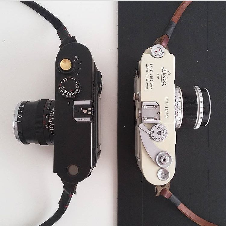 Nice duo via @jrphoto88 #leicacraft #leica #cameraporn #rangefinder #35mm by leicacraft