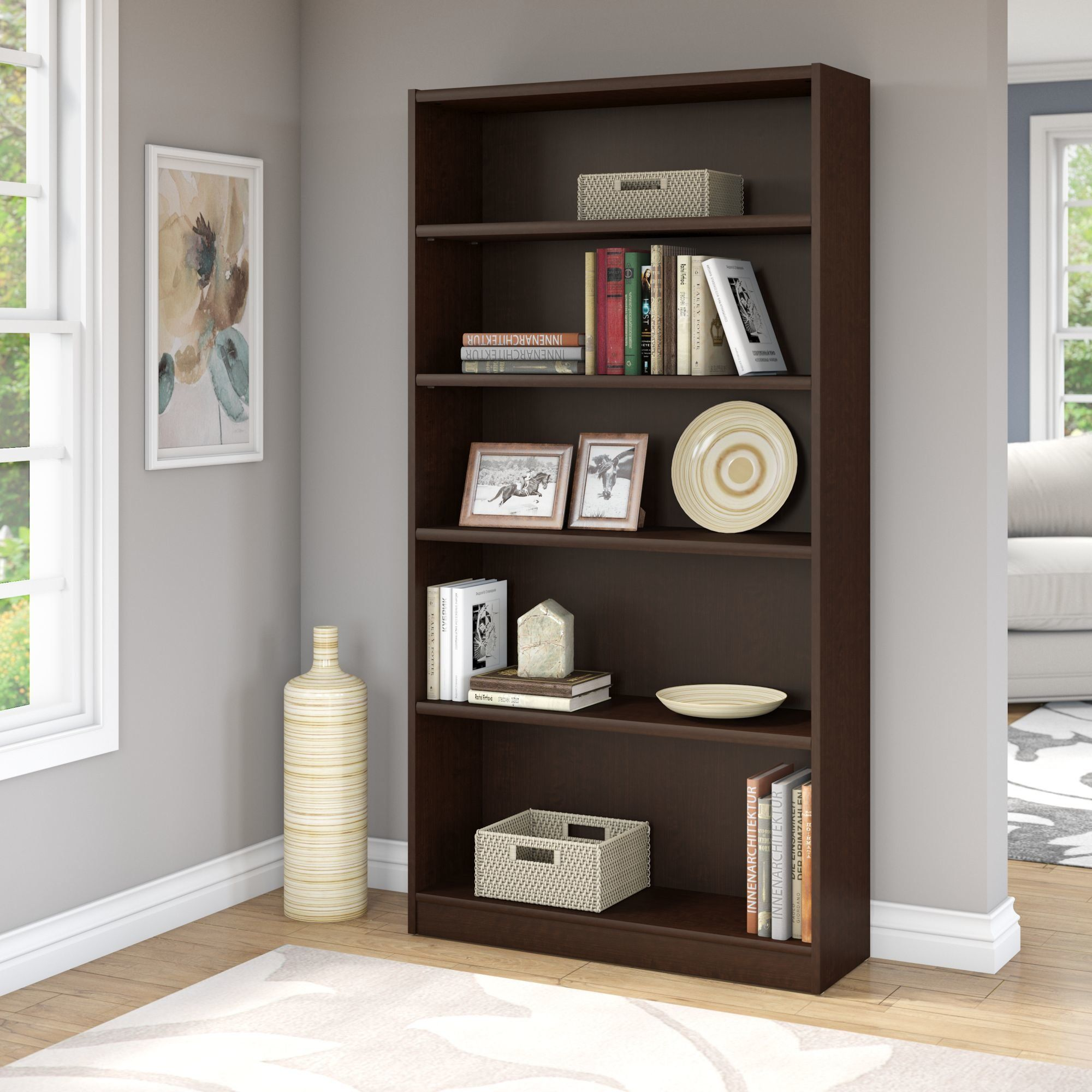universal bookcase standard bookcase products bookcase 5 shelf rh pinterest ch