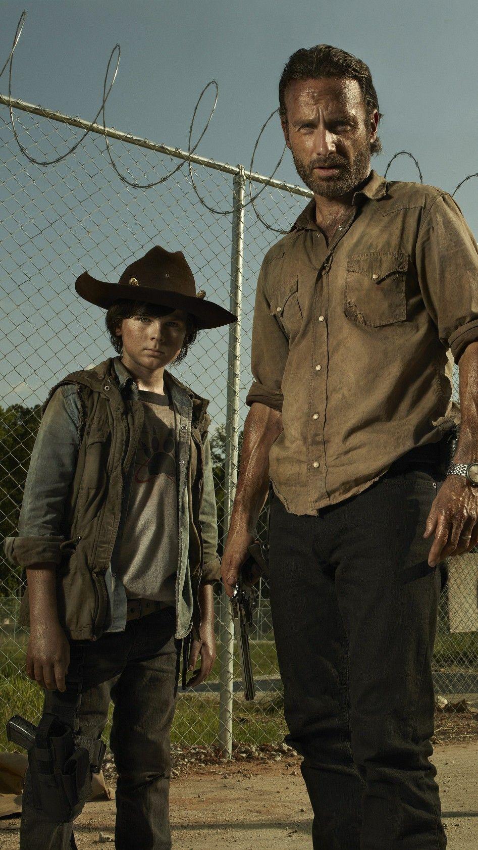 Wallpaper The Walking Dead Chandler Riggs Como Carl Grimes E