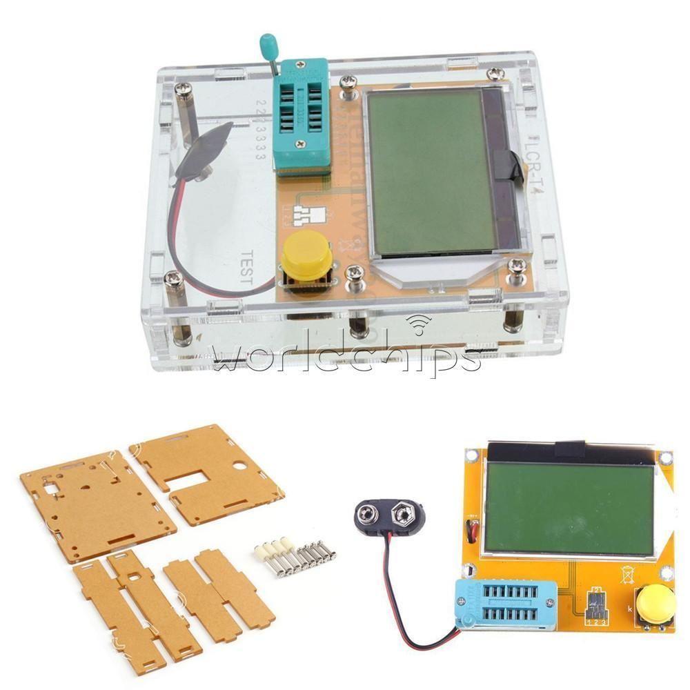 Lcr T4 Mega328 Transistor Tester Diode Triode Capacitance Esr Meter Circuit Mos Npn Pnp Business Industrial Electrical Test Equipment