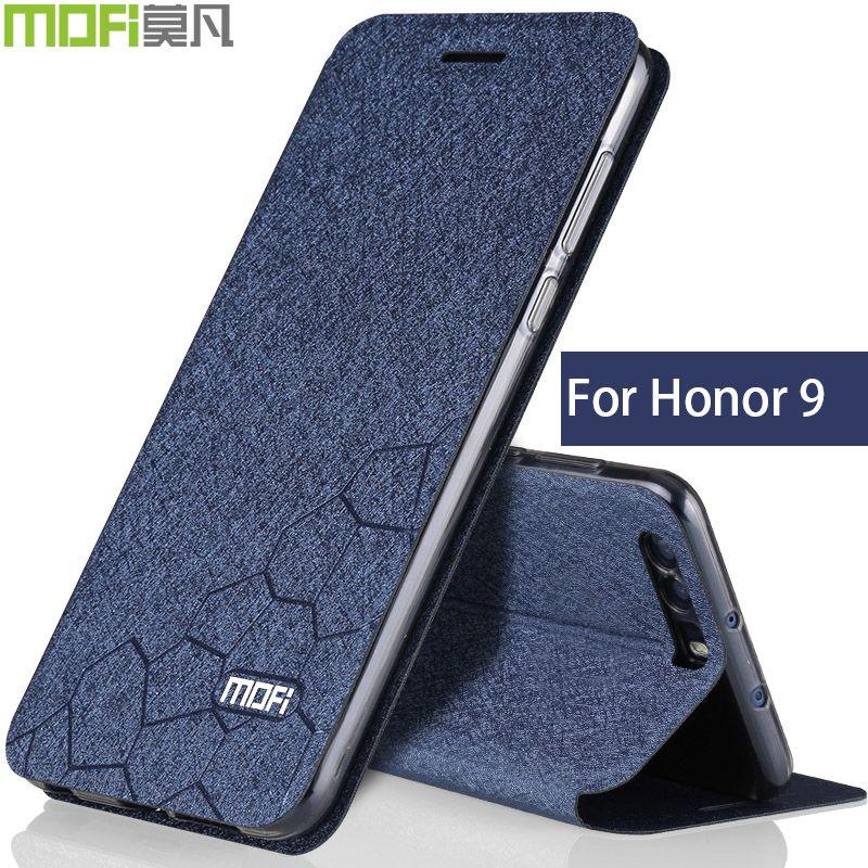 Huawei honor 9 case flip book cover Huawei honor9 case cover silicone clear back Bear honor9 case duke coque transparent blue  #Affiliate