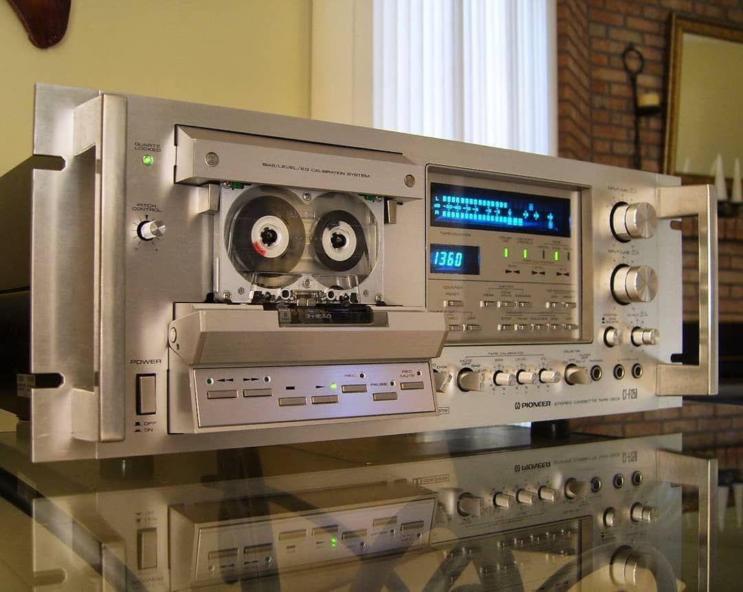 Pioneer Cassette Deck Audio Room Hifi Audio Pioneer Audio