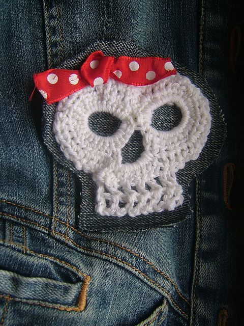 Day Of The Dead Crochet Skull Pattern By Darlene R Harris Crochet