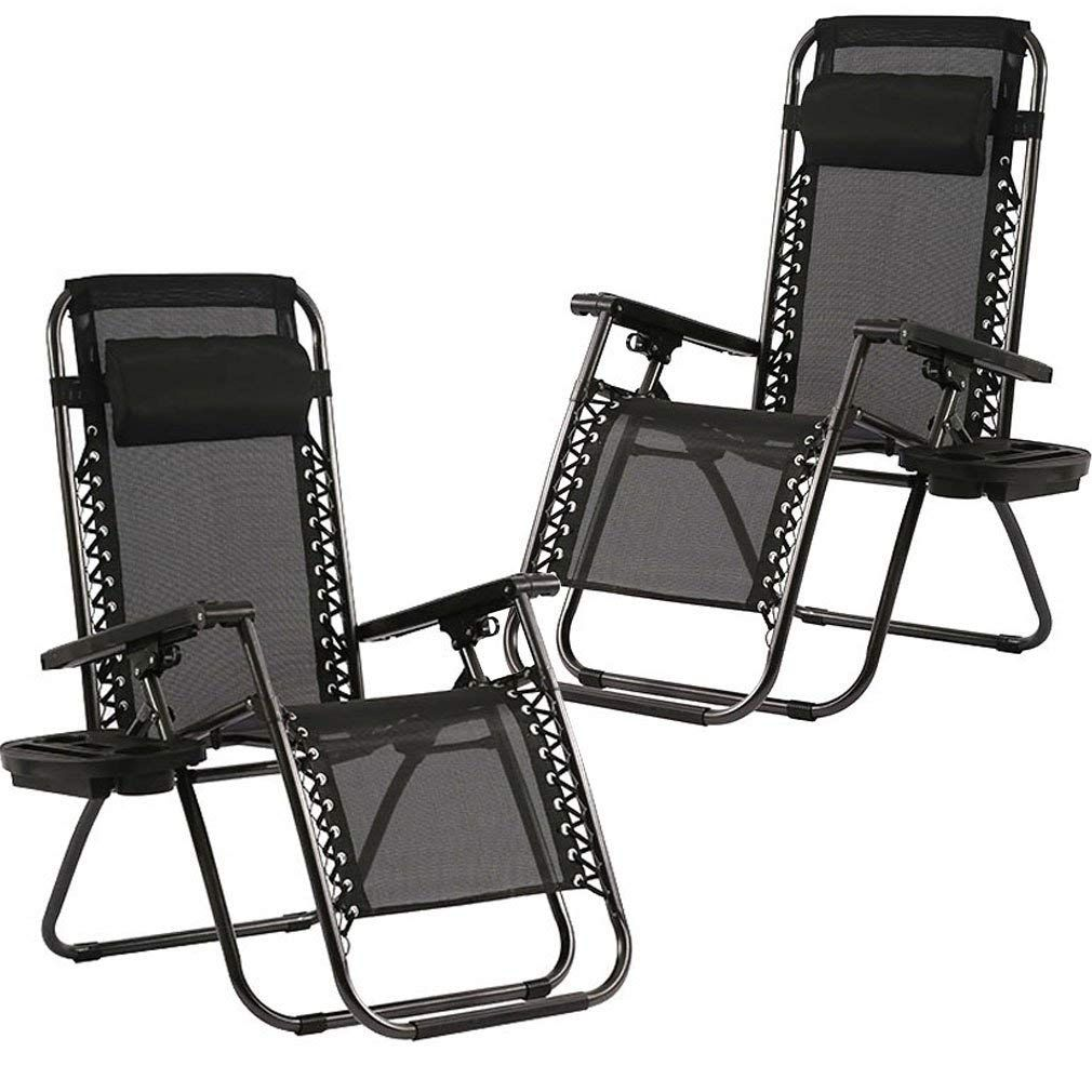 Zero Gravity Chairs Set Of 2 Patio Adjustable Reclining