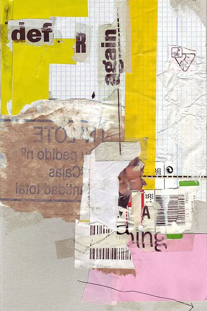The FR Again collage - I love this deconstructed f