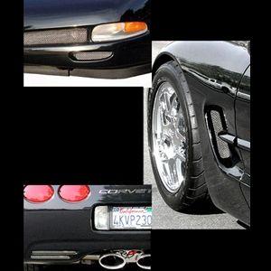 Corvette Screen Set 6 Pc 97 04 C5 Z06 Corvette Corvette Accessories 2004 Corvette