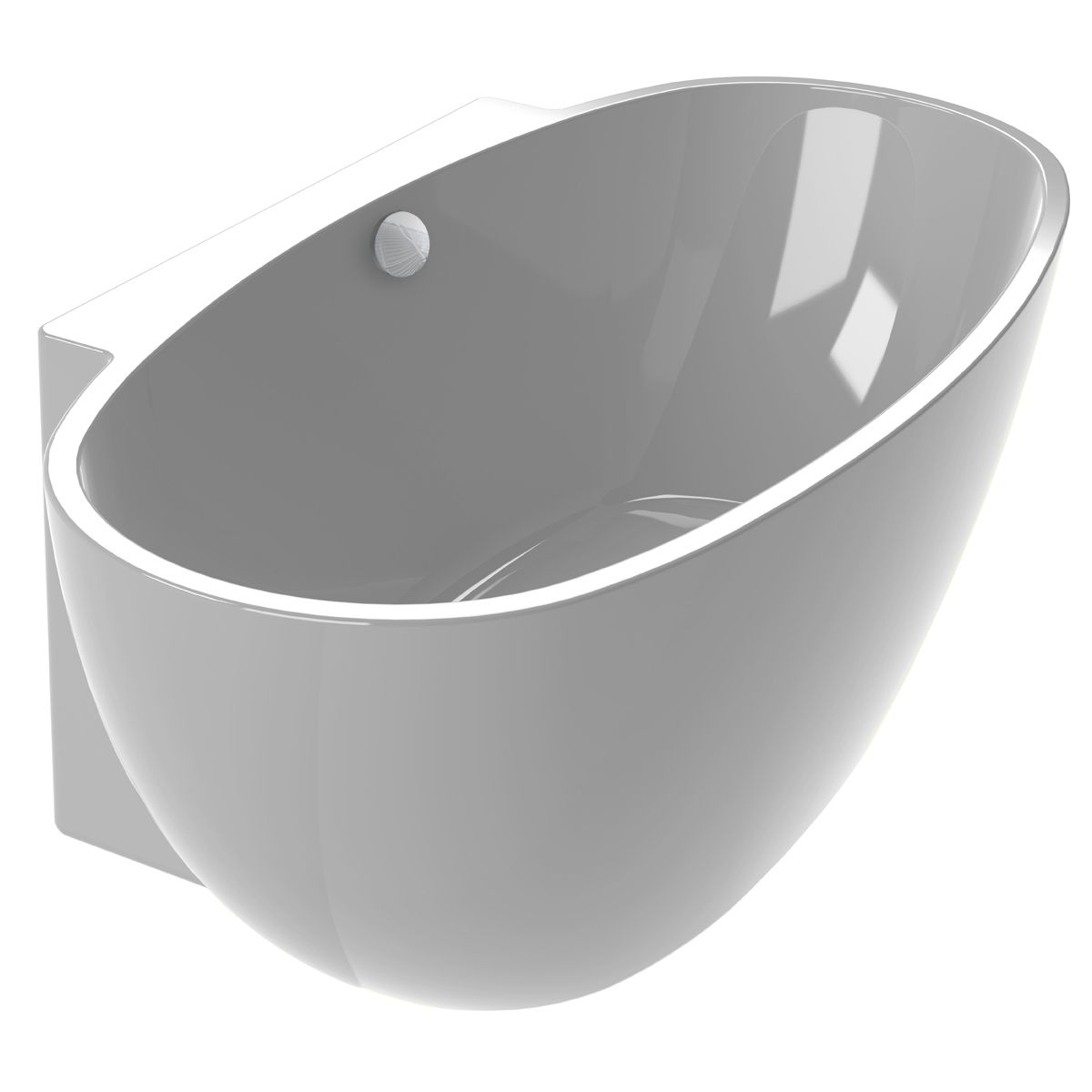 Baignoire Monobloc Autoportante Agata M Aquarine Baignoire Sanitaire Salle De Bain