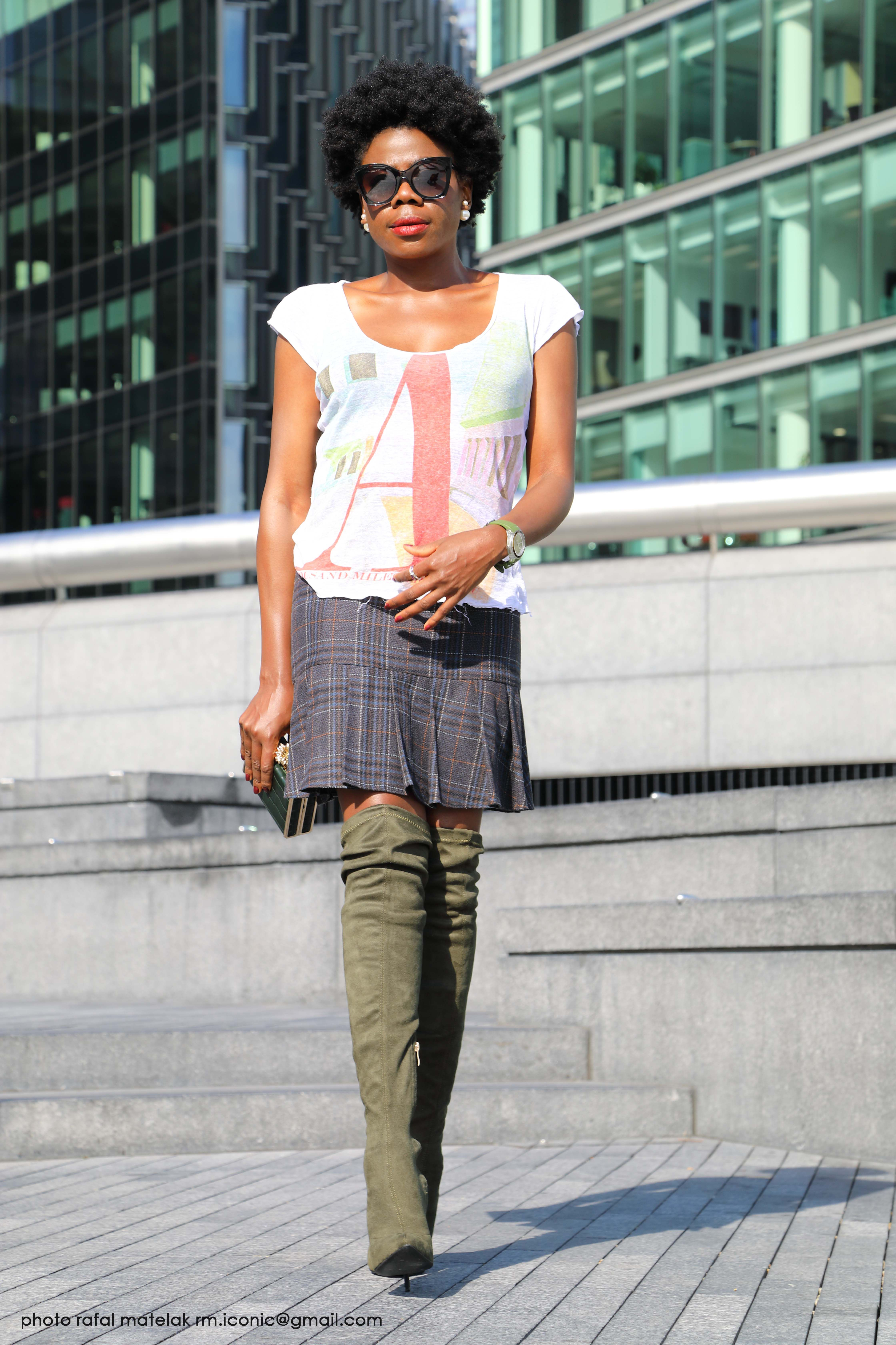da1a1f21a1c5 Knee high boots-How to style them in the summer. Here is how - Mammypi