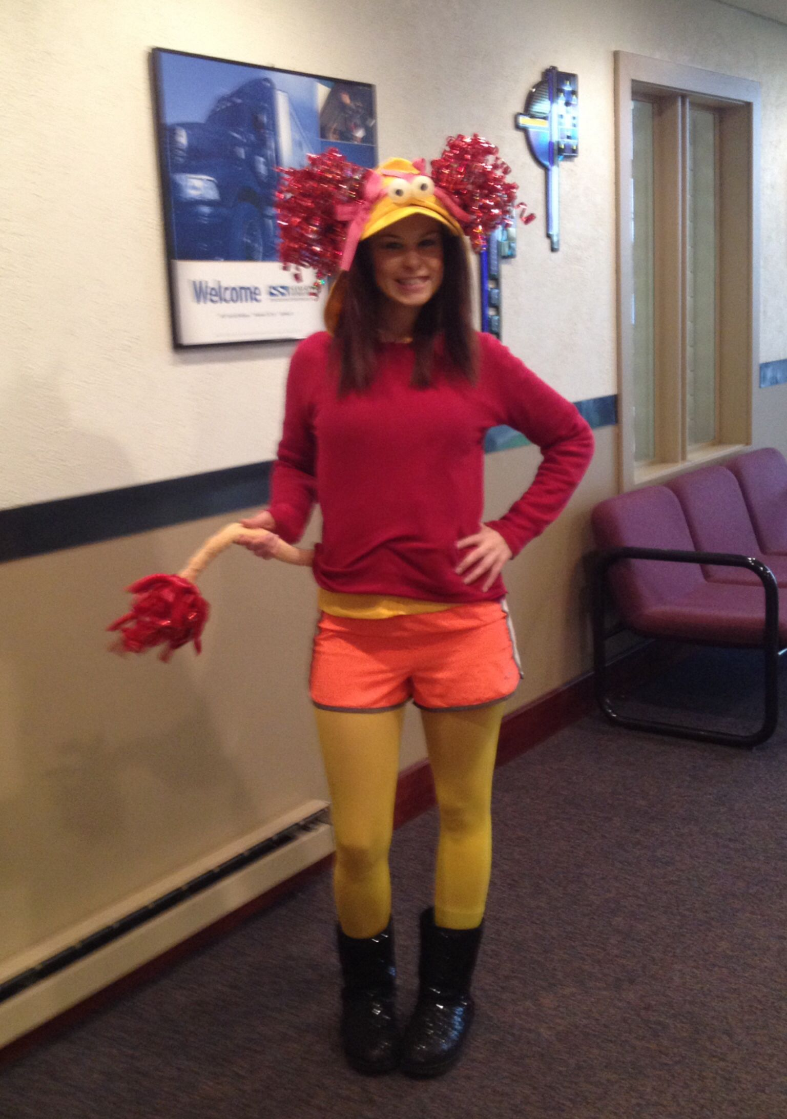 red fraggle costume homemade - Fraggle Rock Halloween Costumes