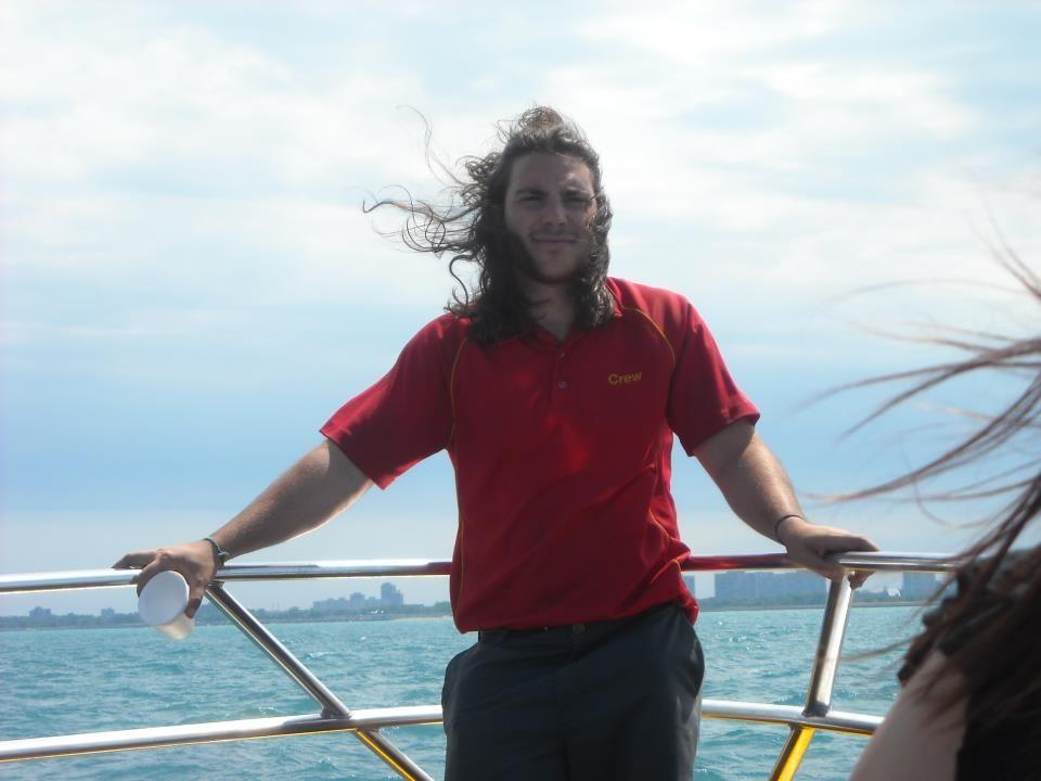 Seadog Tour Guide nicknamed the Italian Thor