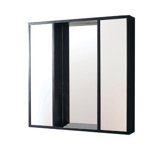 Decolav 9735-ES Stained Wood Medicine Cabinet, Espresso by ...