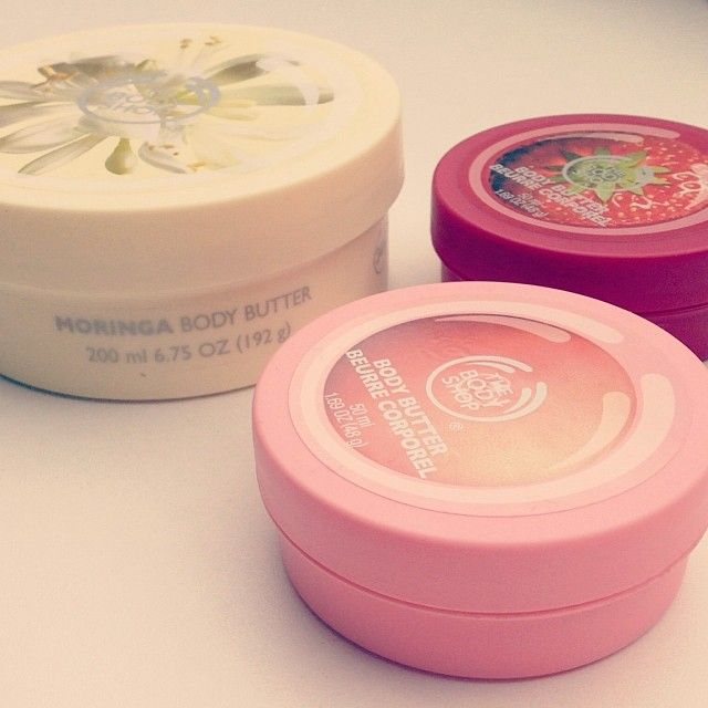 The Body Shop body butter!!