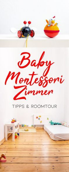 Montessori Baby Kinderzimmer ab 10 Monaten Baby