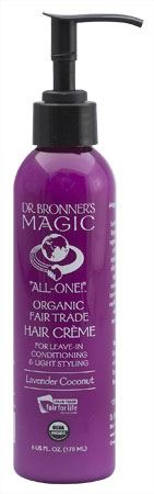 Lavender Hair Conditioner & Style Cr�me by Dr. Bronner's