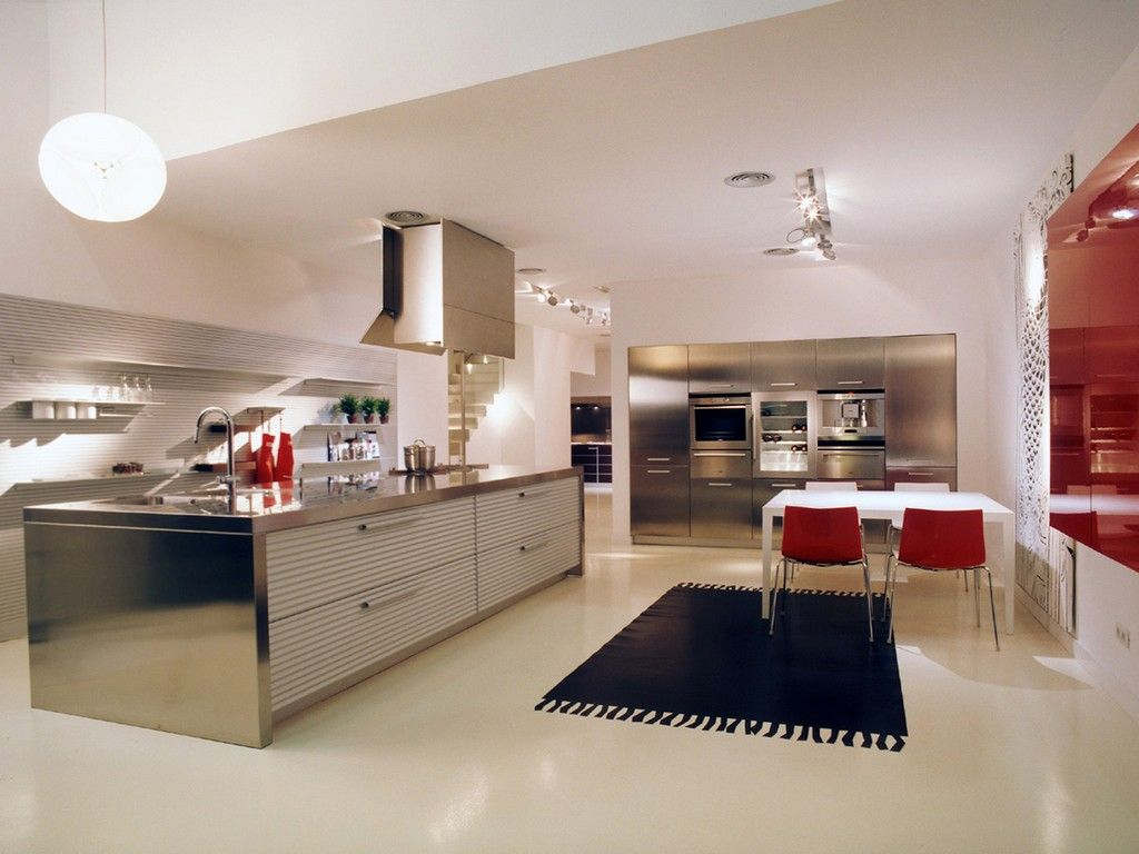 Modern bright kitchen lighting stribal design interior home modern bright kitchen lighting workwithnaturefo