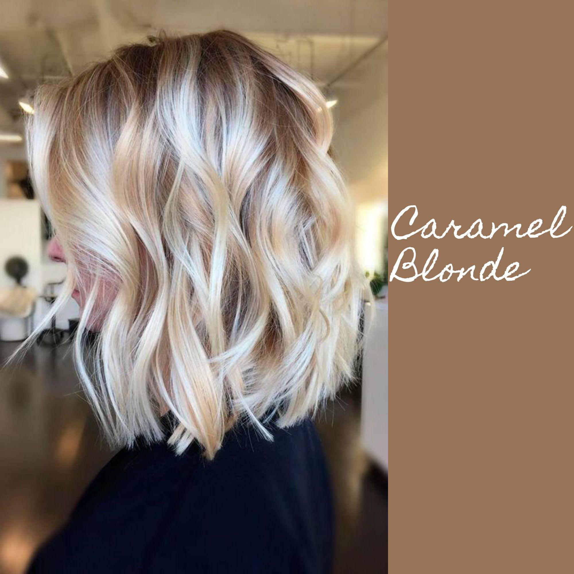 Blonde Hair With Caramel Lowlights Caramelhaircolour