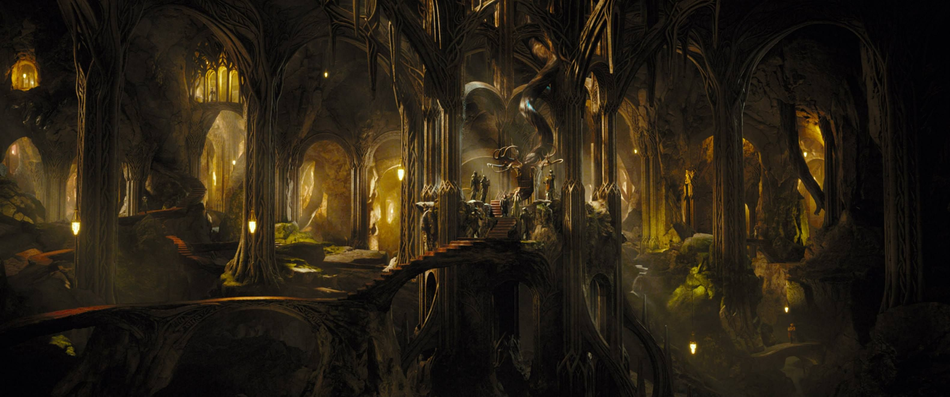 View Download Comment And Rate This 3164x1325 The Hobbit Desolation Of Smaug Wallpaper