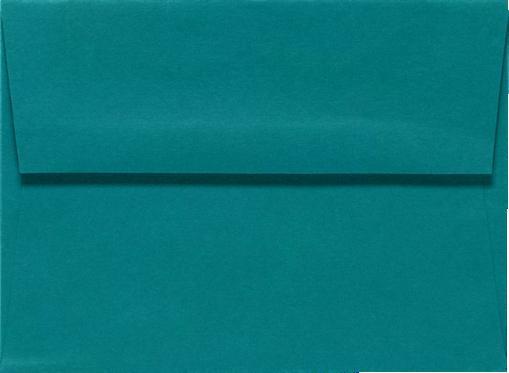 Teal A6 Envelopes Square Flap 4 3 4 X 6 1 2 Envelopes Com Envelopes Com Photo Envelope Envelope