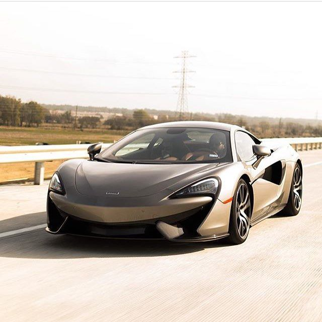 McLaren 570S Cruising! Photo Via: @houston.cars Second