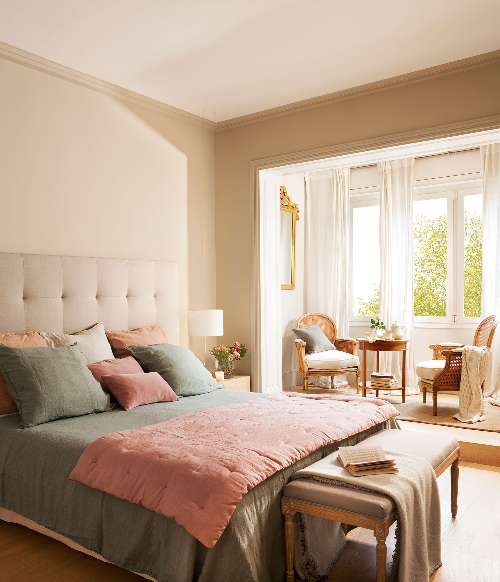 20 dormitorios con muchas ideas pinteres - Decoracion de habitaciones con fotos ...
