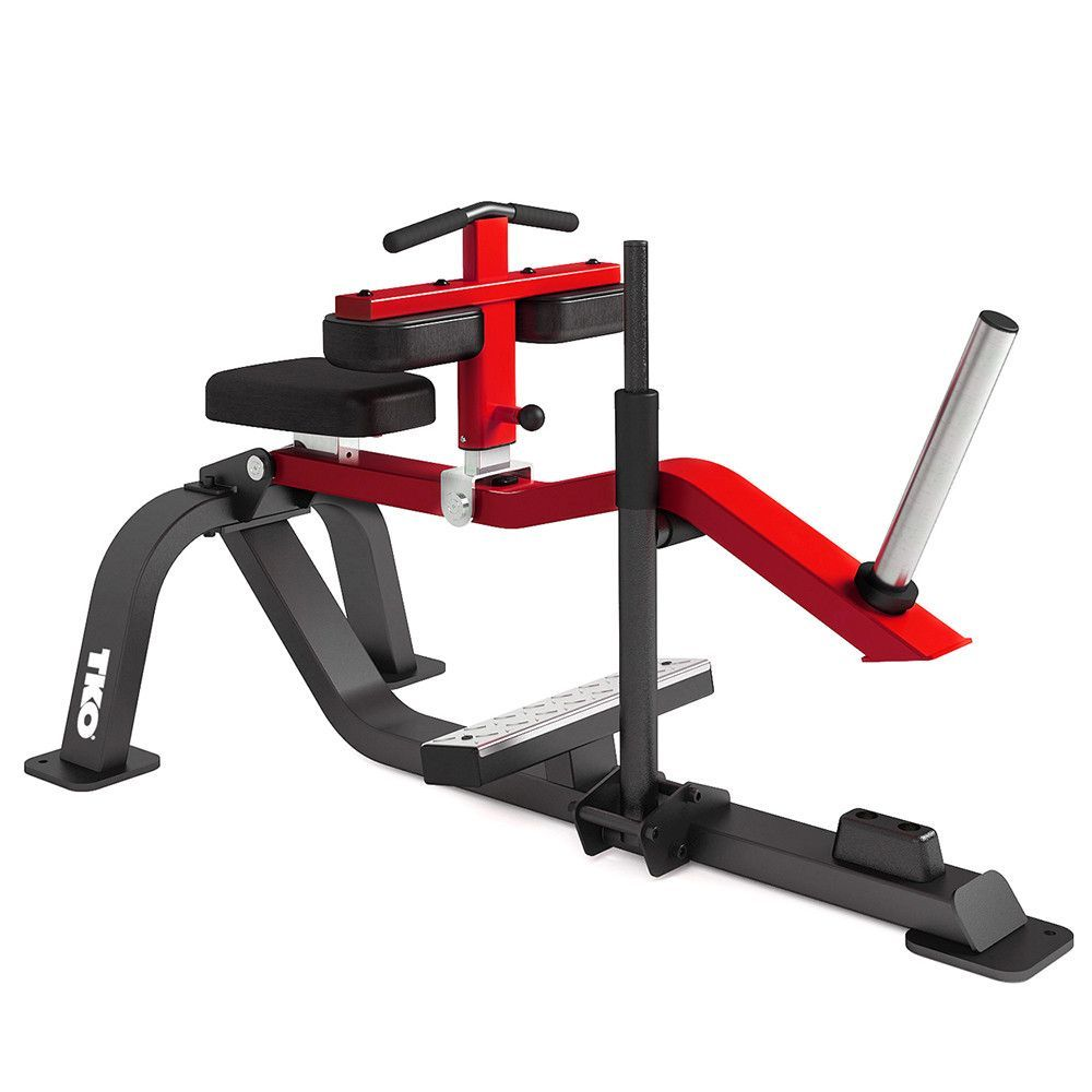 SEATED CALF RAISE | Gym | Calf raises, Hip flexor exercises, Calves