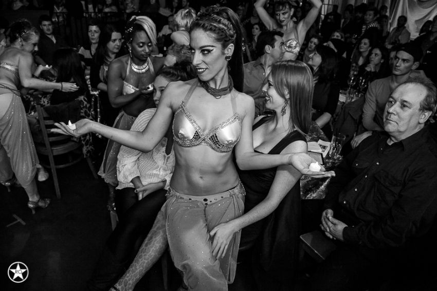 Cheeky Burlesque @ Lula Lounge » Rick O'Brien Photographer