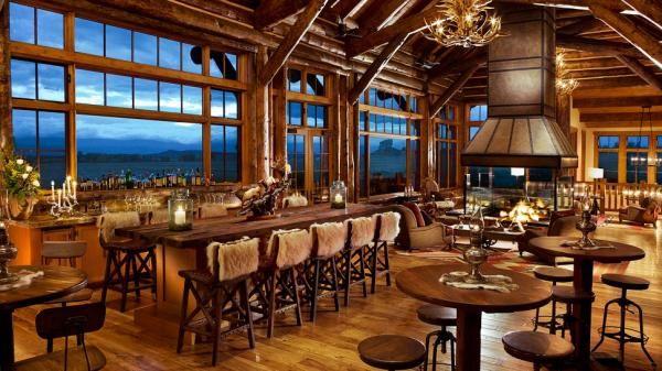 hunting lodge restaurant design - Google Search