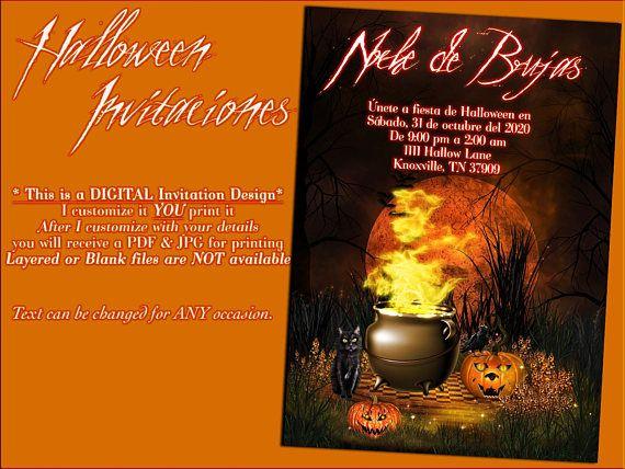 halloween party invitaciones october invitaciones halloween
